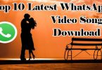 Top 10 Latest WhatsApp Status Video Song Download