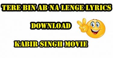 Tere Bin Ab Na Lenge Lyrics
