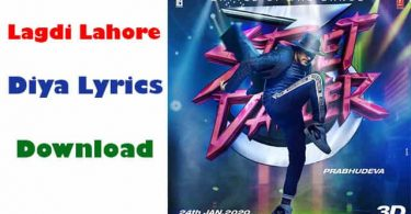 Lagdi Lahore Diya Lyrics In Hindi