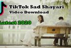 Tik Tok Sad Shayari Video Download