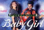 Baby Girl Lyrics Download