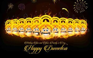 2020 dussehra greeting status images
