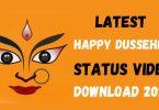 happy dussehra status video download