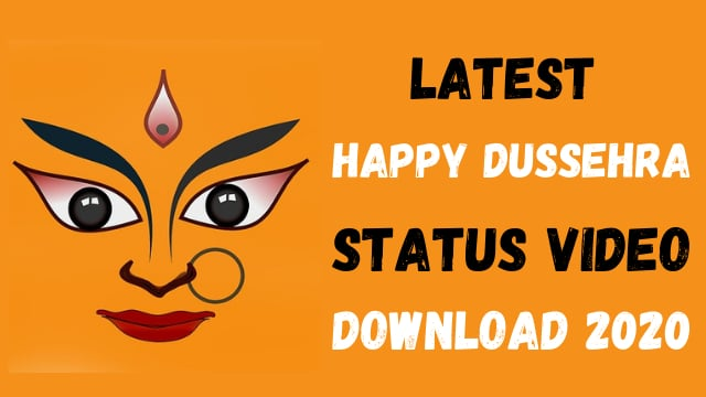 happy dussehra status video download