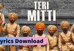 Teri Mitti Lyrics Download