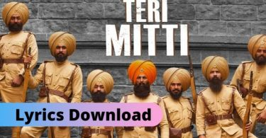 Teri Mitti Lyrics Download