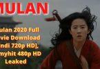 Mulan 2020 Full Movie Download