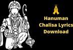 Jai Hanuman Gyan Gun Sagar Lyrics Hindi Download